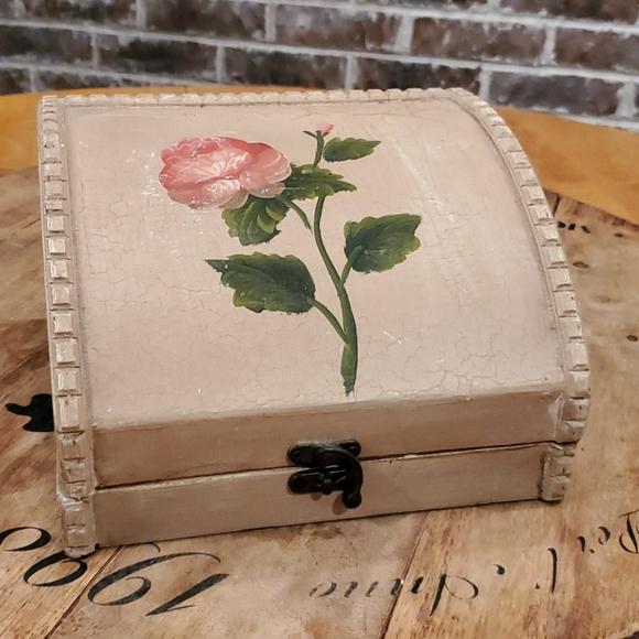 Wooden Rose box
